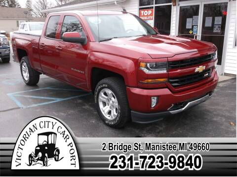 2018 Chevrolet Silverado 1500 for sale at Victorian City Car Port INC in Manistee MI