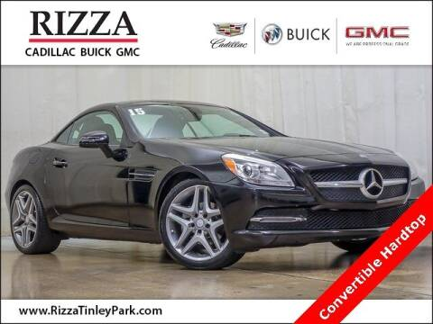 2015 Mercedes-Benz SLK for sale at Rizza Buick GMC Cadillac in Tinley Park IL
