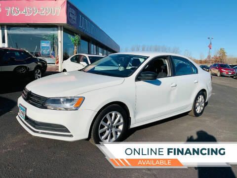 2015 Volkswagen Jetta for sale at LUXURY IMPORTS AUTO SALES INC in North Branch MN