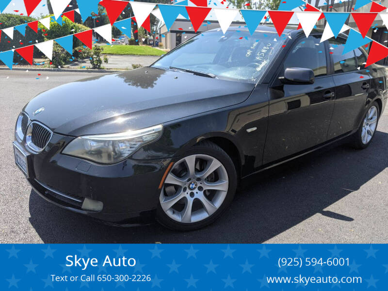 2008 BMW 5 Series for sale at Skye Auto in Fremont CA
