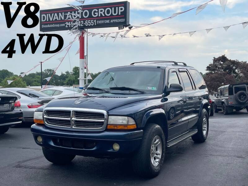 2003 Dodge Durango for sale at Divan Auto Group in Feasterville PA