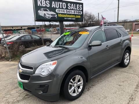2013 Chevrolet Equinox for sale at KBS Auto Sales in Cincinnati OH