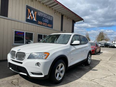 2012 BMW X3 for sale at M & A Affordable Cars in Vancouver WA