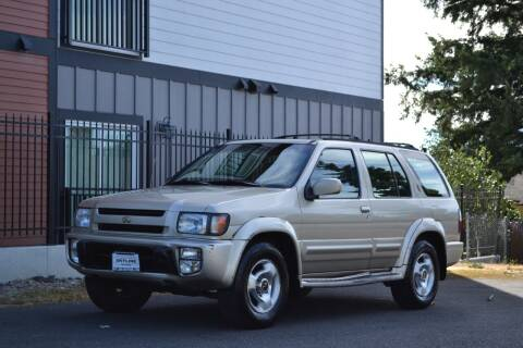 1997 Infiniti QX4 for sale at Skyline Motors Auto Sales in Tacoma WA