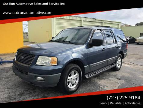 2004 Ford Expedition for sale at Out Run Automotive Sales and Service Inc in Tampa FL