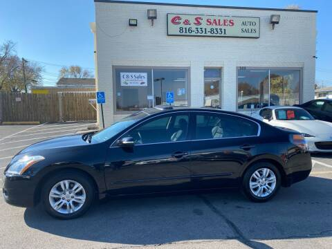 2010 Nissan Altima for sale at C & S SALES in Belton MO