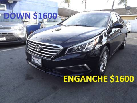 2016 Hyundai Sonata for sale at PACIFICO AUTO SALES in Santa Ana CA