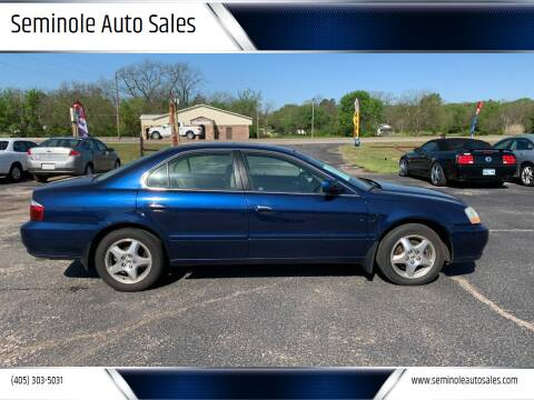 2003 Acura TL for sale at Seminole Auto Sales in Seminole OK