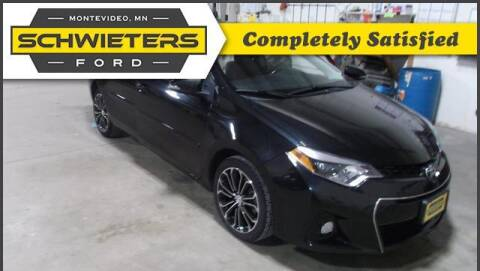 2016 Toyota Corolla for sale at Schwieters Ford of Montevideo in Montevideo MN