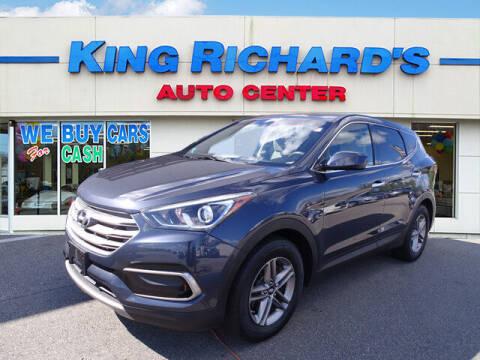 2017 Hyundai Santa Fe Sport for sale at KING RICHARDS AUTO CENTER in East Providence RI