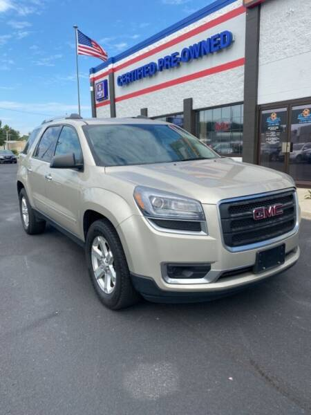 2016 GMC Acadia for sale at Ultimate Auto Deals DBA Hernandez Auto Connection in Fort Wayne IN