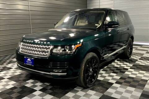 2017 Land Rover Range Rover for sale at TRUST AUTO in Sykesville MD