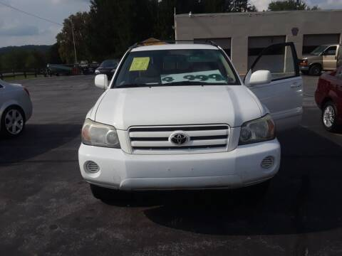 2004 Toyota Highlander for sale at Dun Rite Car Sales in Downingtown PA