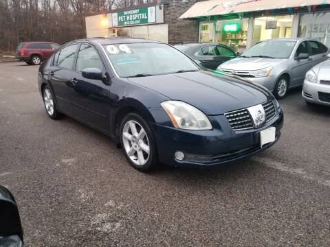 2004 Nissan Maxima for sale at North Chicago Car Sales Inc in Waukegan IL
