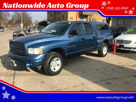 2002 Dodge Ram Pickup 1500 for sale at Nationwide Auto Group in Melrose Park IL