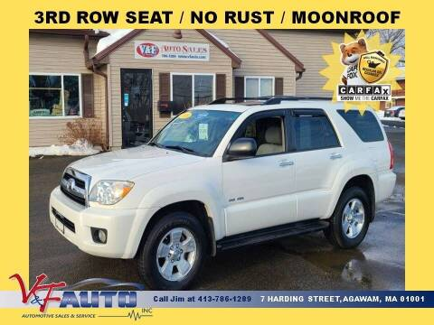 2008 Toyota 4Runner for sale at V & F Auto Sales in Agawam MA