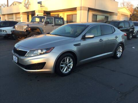 2011 Kia Optima for sale at Beutler Auto Sales in Clearfield UT