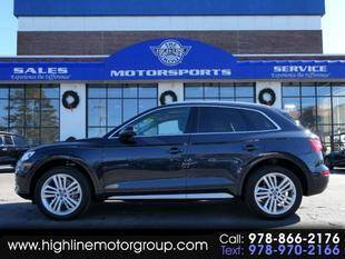 2018 Audi Q5 for sale at Highline Group Motorsports in Lowell MA