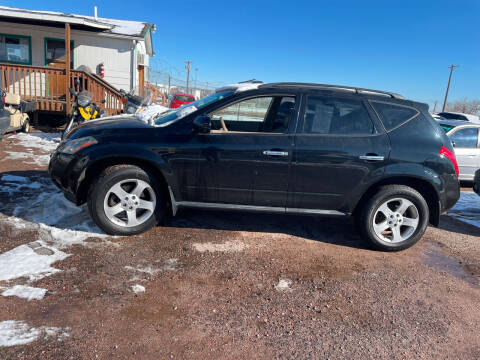 2005 Nissan Murano for sale at PYRAMID MOTORS - Fountain Lot in Fountain CO