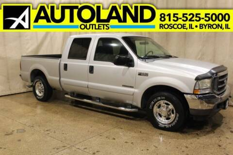 2002 Ford F-250 Super Duty for sale at AutoLand Outlets Inc in Roscoe IL