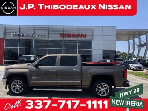 2015 GMC Sierra 1500 for sale at J P Thibodeaux Used Cars in New Iberia LA