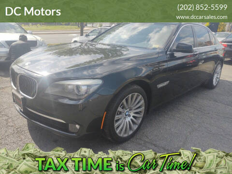2012 BMW 7 Series for sale at DC Motors in Springfield VA