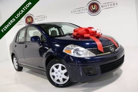 2009 Nissan Versa for sale at Unlimited Motors in Fishers IN