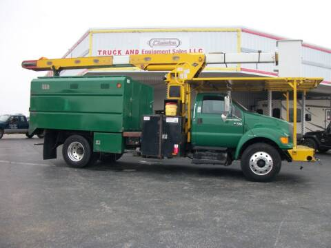 2011 Ford F750 Chipper Truck for sale at Classics Truck and Equipment Sales in Cadiz KY