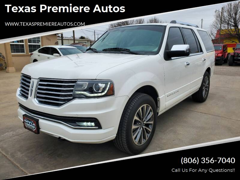 2015 Lincoln Navigator for sale at Texas Premiere Autos in Amarillo TX