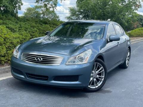 2007 Infiniti G35 for sale at William D Auto Sales in Norcross GA