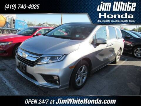 2018 Honda Odyssey for sale at The Credit Miracle Network Team at Jim White Honda in Maumee OH