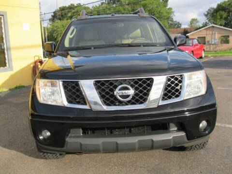 2006 Nissan Frontier for sale at PARK AUTOPLAZA in Pinellas Park FL