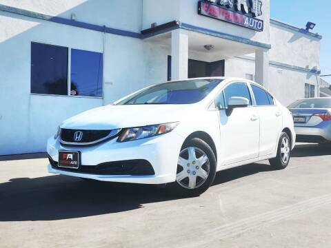 2014 Honda Civic for sale at Fastrack Auto Inc in Rosemead CA