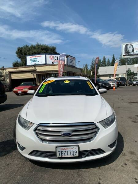 2013 Ford Taurus for sale at Victory Auto Sales in Stockton CA