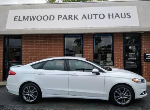 2017 Ford Fusion for sale at Elmwood Park Auto Haus in Elmwood Park IL