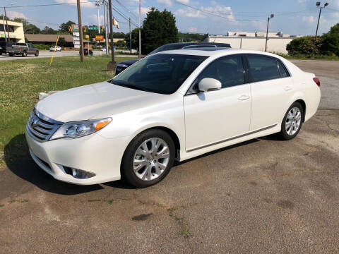 2012 Toyota Avalon for sale at Haynes Auto Sales Inc in Anderson SC