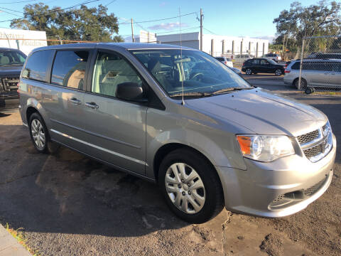 2017 Dodge Grand Caravan for sale at CAR VIPS ORLANDO LLC in Orlando FL