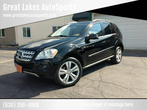 2011 Mercedes-Benz M-Class for sale at Great Lakes AutoSports in Villa Park IL