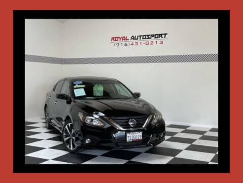 2016 Nissan Altima for sale at Royal AutoSport in Sacramento CA