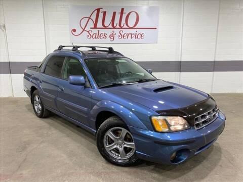 2006 Subaru Baja for sale at Auto Sales & Service Wholesale in Indianapolis IN