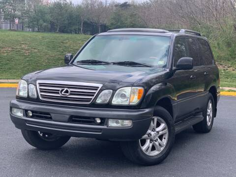 2004 Lexus LX 470 for sale at Diamond Automobile Exchange in Woodbridge VA