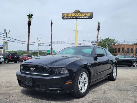 2014 Ford Mustang for sale at A MOTORS SALES AND FINANCE - 5630 San Pedro Ave in San Antonio TX