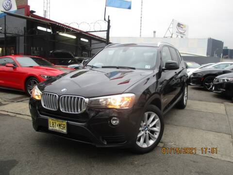 2017 BMW X3 for sale at Newark Auto Sports Co. in Newark NJ
