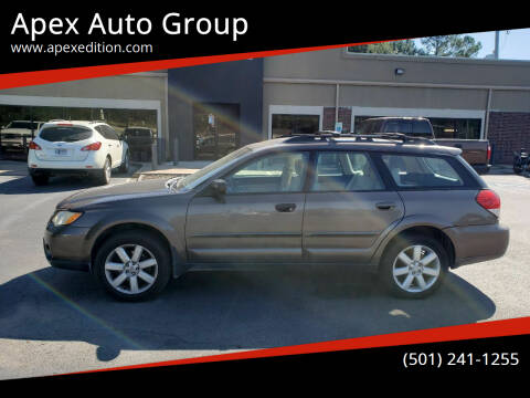 2009 Subaru Outback for sale at Apex Auto Group in Cabot AR
