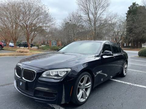2013 BMW 7 Series for sale at Car Online in Roswell GA