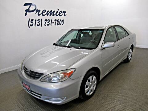 2003 Toyota Camry for sale at Premier Automotive Group in Milford OH