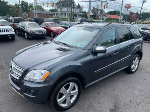 2010 Mercedes-Benz M-Class for sale at Masic Motors, Inc. in Harrisburg PA