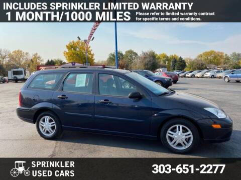 2001 Ford Focus for sale at Sprinkler Used Cars in Longmont CO