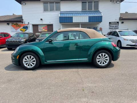 2017 Volkswagen Beetle Convertible for sale at Twin City Motors in Grand Forks ND