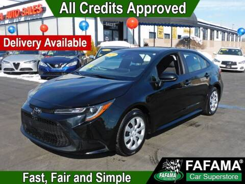 2020 Toyota Corolla for sale at FAFAMA AUTO SALES Inc in Milford MA